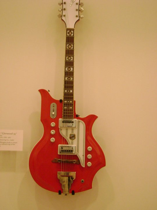Electric guitar at the Musical Instrument Museum.