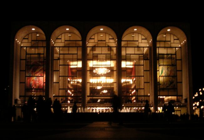 Metropolitan Opera House at Lincoln Center; photo by Paul Masck