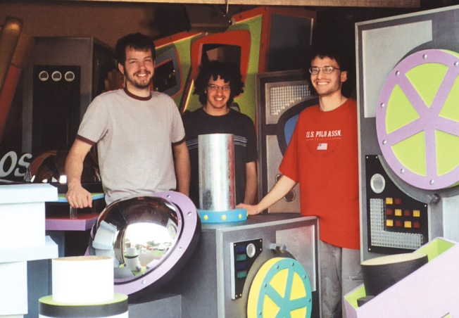Back in the day: the Kirsch brothers, Jesse, Joshua, and Jeremy, circa 2005.