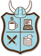 The official NaNoWriMo crest