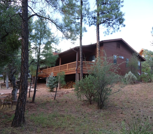 Judy's house.