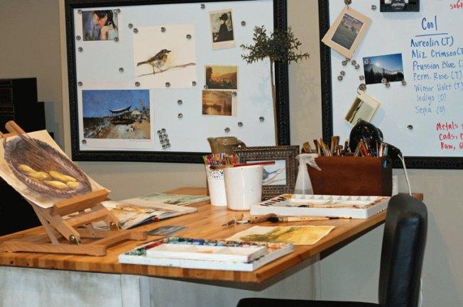 Rachelle Levingston's studio