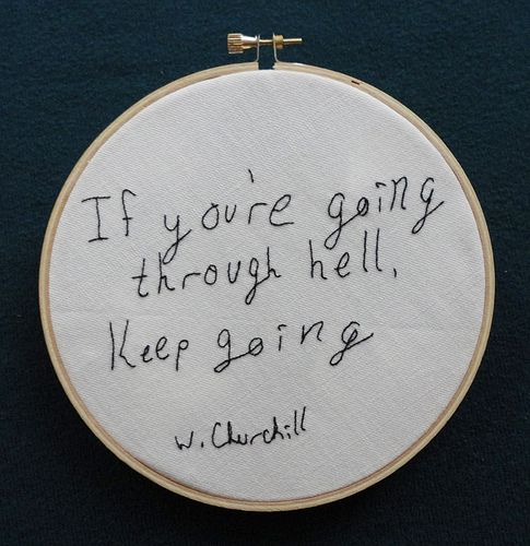 W Churchill