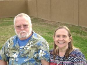 My husband, Greg, and I