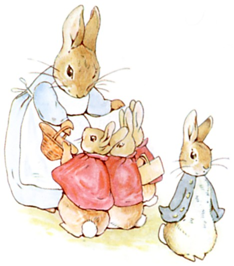 Peter-rabbit public domain
