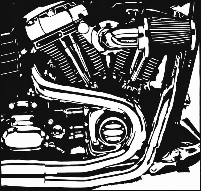 AllenChamberland_Harley Engine