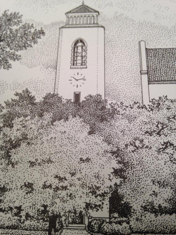 detail, Summerall Chapel