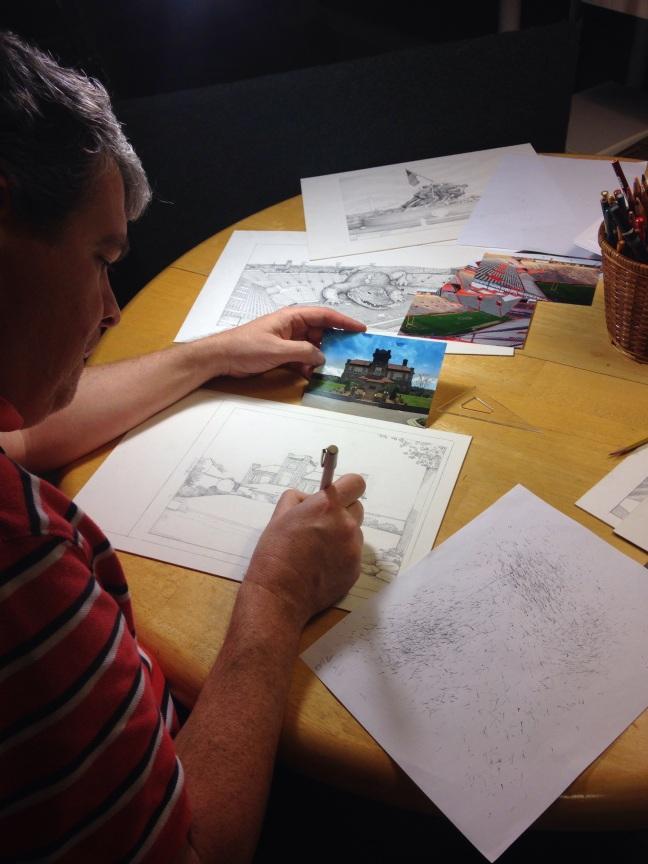 Michael James at work