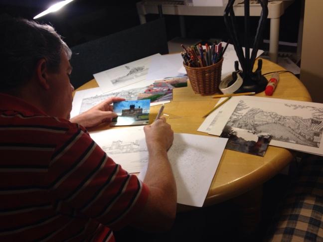 Michael James working