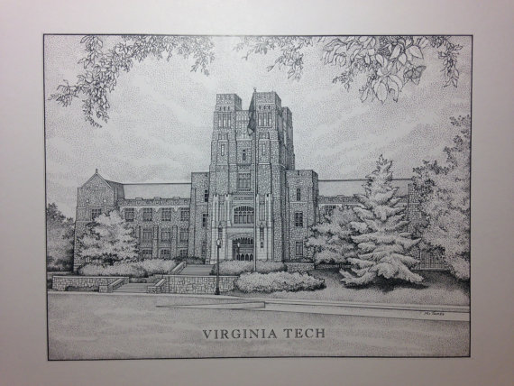 Virginia Tech, Buress Hall