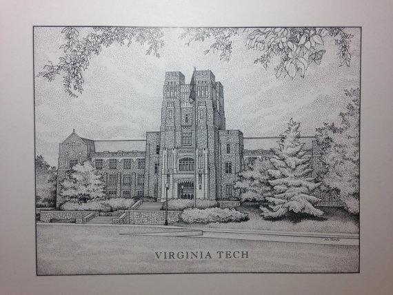 Virginia Tech, Buress Hall
