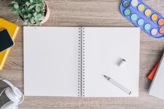 Blank sketchbook DeathtoStock