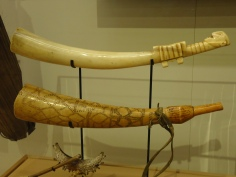 Yes, these horns are made of ivory.