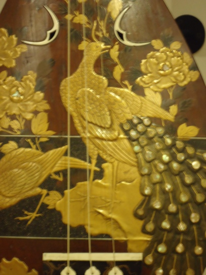 Detail showing inlay.