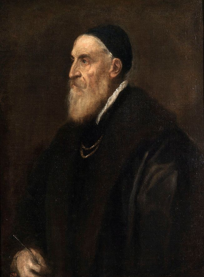 Titian self-portrait