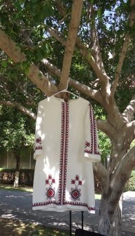Another hand-embroidered costume.