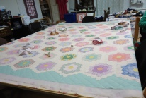 Another quilt-in-progress.