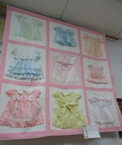 Can't bear to give away those cute little baby dresses?