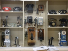 And these are telephones. Before you could put them in your pocket.