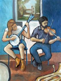 Street Musicians, Downtown Charlotte