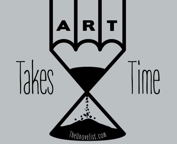 art takes time