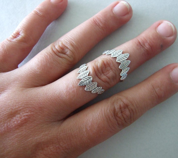 I've never seen a double knuckle ring before.