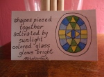 ICAD Day 16: Stained Glass