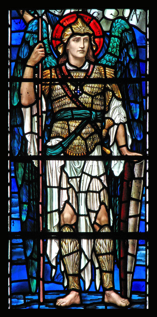 St Michael the Archangel by Lawrence OP, Buckland