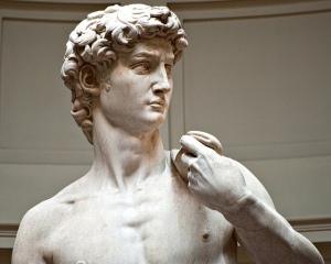 Michelangelo's David by Steve Hanna