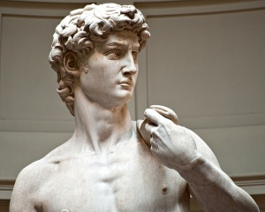 Michelangelo's David by Steve Hanna