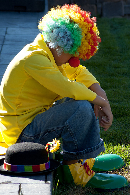 Sad Clown