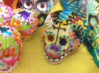 Sugar skulls; photo by Cristina Zapata Perez