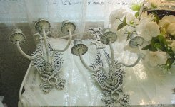 Vintage French Sconces