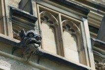 grotesque stone scuplture