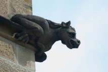 beastly animal stone scuplture