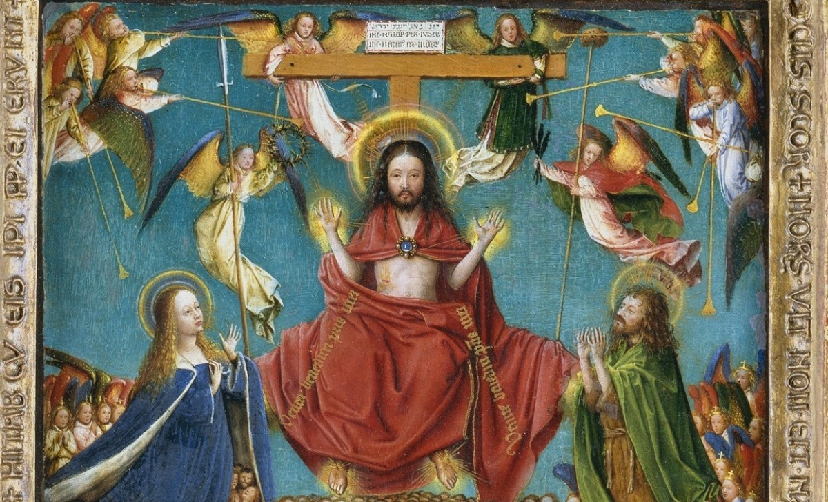 Jan van Eyck's The Crucifixion and the Last Judgment: Painted by a Committee