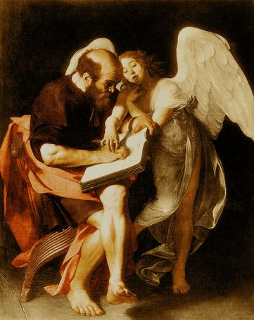 St. Matthew and the Angel, Caravaggio