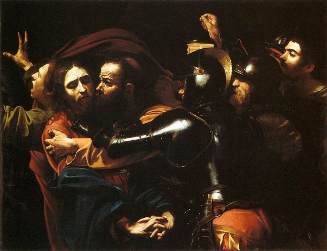 999px-Caravaggio_-_Taking_of_Christ_-_Dublin