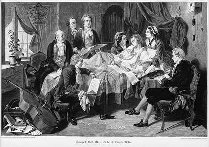 Mozart's Deathbed
