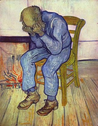 Van Gogh: Sorrowing Old Man ('At Eternity's Gate')