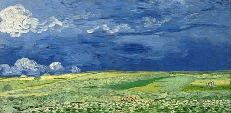 Van Gogh: Wheatfield Under Thunderclouds