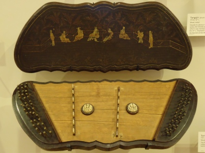 Yangqin (struck zither) from China