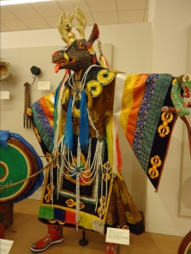Shava (the deer), costume for Buddhist dance of the Mongol people