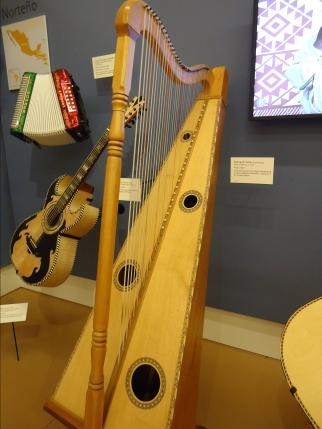 Mariachi harp
