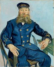 Van Gogh: Portrait of the Postman Joseph Roulin