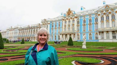 Front of Catherine the Great's summer palace