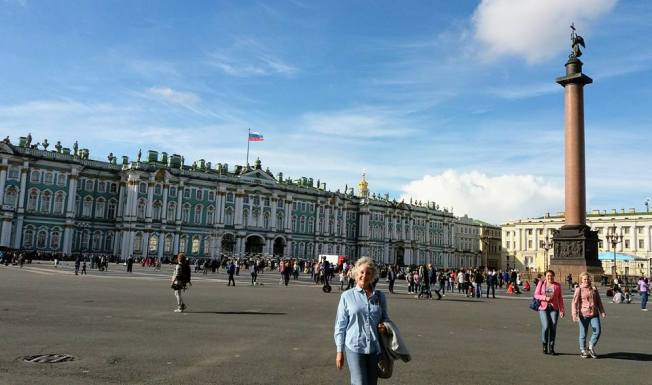 Palace Square - Hermitage, Saint Petersbury