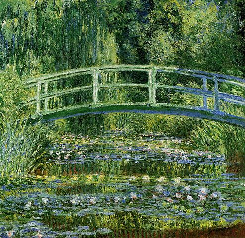 494px-Water-Lilies-and-Japanese-Bridge-(1897-1899)-Monet