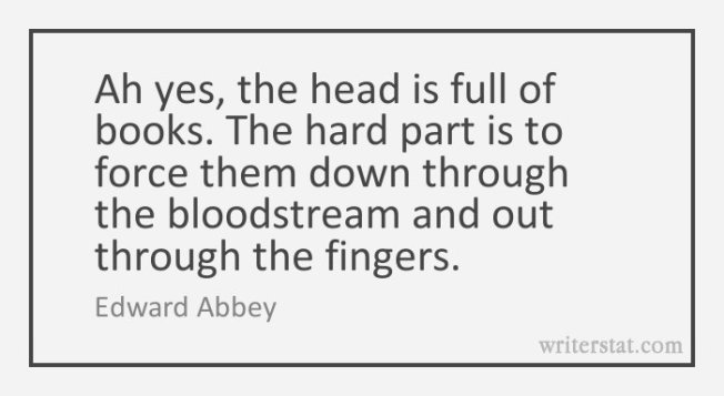 Abbey Quote