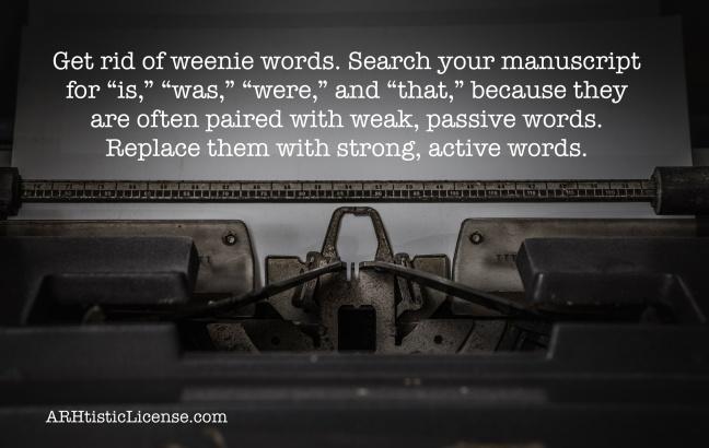 Weenie words